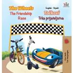 【预订】The Wheels The Friendship Race (English Serbian Book fo