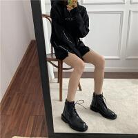 马丁靴女英伦风短靴中筒黑色帅气机车靴骑士靴短靴女