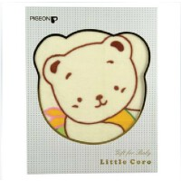 【当当自营】Pigeon贝亲 Little Coro 春夏棉毯(黄色) LA19 贝亲洗护喂养用品