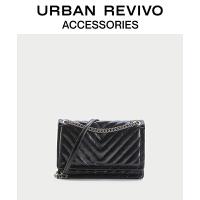 URBAN REVIVO2021夏季新品女士配件简约时尚单肩包AY13BB2X2000