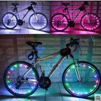 自行车灯山地车尾灯风火轮警示灯夜骑灯 死飞单车装备配件