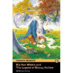 【预订】Rip Van Winkle and the Legend of Sleepy Hollow, Level 1