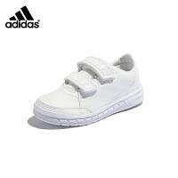 【券后价:299元】阿迪达斯adidas童鞋2019秋季新款正品男女童小白鞋休闲学生鞋小童训练鞋(3-15岁可选)D9