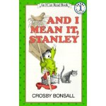 I Can Read Level 1 And I Mean It Stanley ISBN:9780064440462
