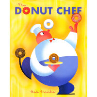 The Donut Chef (Little Golden Book Classic) 多纳圈厨师 (金色童书经典,精