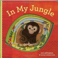 In My Jungle 在我的丛林里[卡板书] ISBN9780811877169