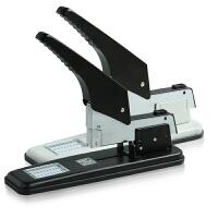 得力0399重型厚层订书机 大号长臂订书器加厚装订机办公文具210页