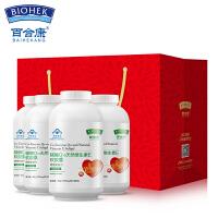 百合康 健康礼品装 辅酶Q10天然维生素E软胶囊增强免疫力 0.5g*80粒*4瓶 礼盒礼袋