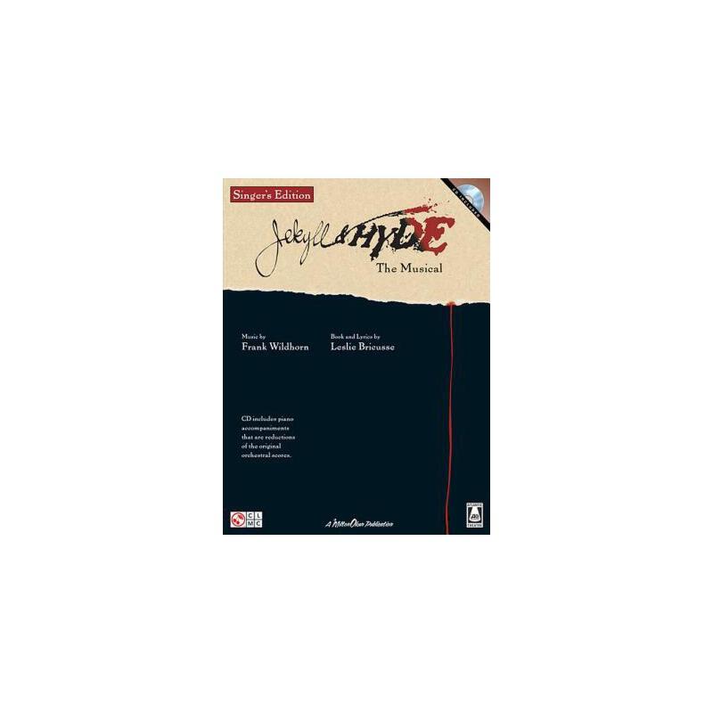 【预订】Jekyll & Hyde: The Musical [With CD (Audio)] 预订商品,需要1-3个月发货,非质量问题不接受退换货。