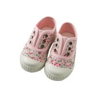 戴维贝拉童装春季新款女儿童帆布鞋宝宝印花板鞋DB10252
