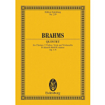 预订 Brahms: Quintet for Clarinet, 2 Violins, Viola and Violo