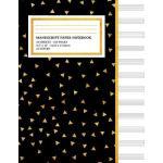 预订 Manu* Paper Notebook: Yellow Geometric Triangle Pattern