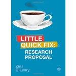 【中商原版】研究计划(社会科学研究方法速成系列)英文原版 Research Proposal Zina OLeary
