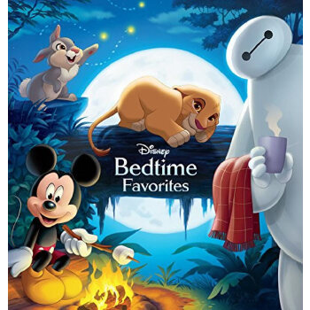 Bedtime Favorites迪斯尼睡前故事ISBN9781484732380
