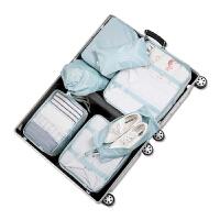 旅行收纳包便携行李箱多功能分类套装大容量女内衣物整理包收纳袋