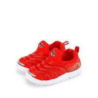 【99元任选3双】迪士尼Disney童鞋男童女童休闲运动毛毛虫鞋 YROJS3260L1BB8
