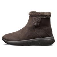 Skehers斯凯奇女鞋轻质舒适毛里短靴保暖时尚雪地靴