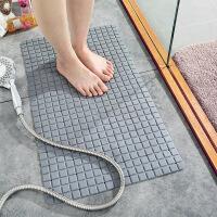 【领券立减10元】环保PVC卫生间吸盘地垫 家用厕所洗澡淋浴脚垫浴室浴缸防滑垫