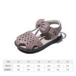 【199元任选2双】百丽童鞋女童软底凉鞋2020夏季新款时尚轻便学步鞋包头凉鞋宝宝鞋