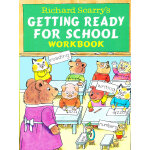 Richard Scarry's Getting Ready for School Workbook (Little Golden Book) 金色斯凯瑞-准备上学练习册 (金色童书) ISBN 9780679865544