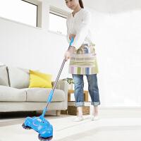 手动家用手推式扫地机扫地机手推式家用懒人扫地器手动吸尘器扫帚笤帚扫把簸箕套装颜色随机