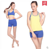新款瑜伽服套装舞蹈服装短裤含胸垫修身健身服 可礼品卡支付