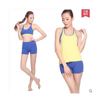 新款瑜伽服套装舞蹈服装短裤含胸垫修身健身服  可礼品卡支付 品质保证 售后无忧 支持货到付款