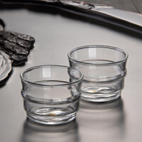 耐热加厚玻璃杯子50ml花茶杯小茶杯品茗杯功夫茶茶具