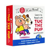 进口英文原版 Learn to Read with Tug跟塔戈和他的朋友们阅读套装2[4-8岁]