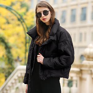 CITYSAILOR 2017女士秋冬新款轻薄白鹅绒冬装羽绒服外套