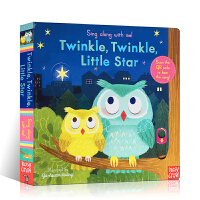 英文原版 Twinkle Twinkle Little Star 一闪一闪小星星 Sing Along with Me