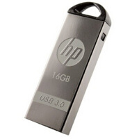 [大部分地区包邮]惠普(HP) x720w 16G 银色迷幻 3.0 U盘16GB 靓丽金属材质 优盘