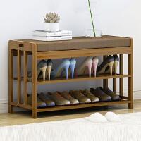 幽咸家居 门口换鞋凳鞋柜简约现代收纳凳北欧实木床尾凳多功能穿鞋凳子