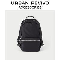 【当当超品价:299元】URBAN REVIVO2021春季新品男士配件休闲双肩大背包AM04TB5N2000