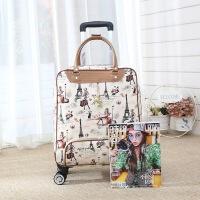 白领公社 拉杆箱 男女式新款纯色万向轮学生密码行李箱男女士20寸糖果色时尚箱包.