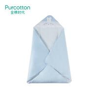 全棉时代 婴儿针织厚款可脱胆抱被抱,1件装