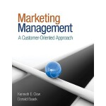 预订 Marketing Management: A Customer-Oriented Approach [ISBN
