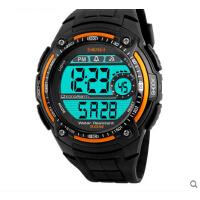 户外运动 手表男士防水个性电子表大表盘 多功能男学生腕表