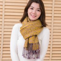 新品秋季新款围巾围脖女韩版冬天超大加厚保暖防晒学生长方形羊绒披肩
