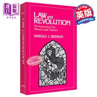 【中商原版】法律与革命(卷一):西方法律传统的形成 英文原版 Law and Revolution Harold Berman 哈罗德伯尔曼 法律史经典著作