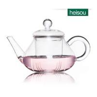 HEISOU 耐高温玻璃花茶壶 泡茶壶带过滤 CF-30    1203