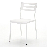 【品牌直供】日本SANWA 150-SNC060W 可叠放收纳的办公椅