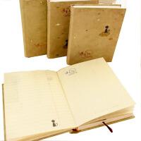 记事本 韩版 遇见谁硬抄日记本韩国创意小猫可爱日常手帐本复古记事本 款式随机