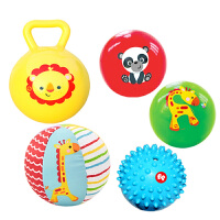 【当当自营】费雪(Fisher Price) 儿童玩具球 宝宝初级训练球五合一套装 F0906