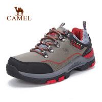 camel骆驼户外登山徒步鞋 秋冬系带女款减震防滑徒步鞋