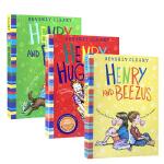 英文原版雷梦拉亨利系列3本 BEVERLY CLEARY:Henry Huggin/Henry and Beezus/