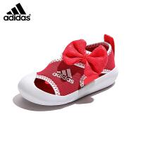 【到手价:199元】阿迪达斯adidas童鞋凉鞋2019夏季新款儿童凉鞋中小童沙滩鞋游泳鞋(3-12岁可选)D9691