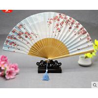 古风折扇和风日式配饰女扇 樱花扇子樱河小扇3把送1把  可礼品卡支付