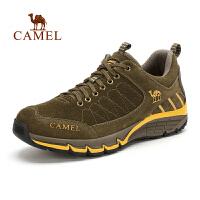 camel骆驼户外徒步鞋 秋冬新品 低帮男鞋 男款