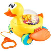宝宝学步拖拉小狗玩具婴儿音乐手拉线拉绳玩具车儿童 1-3岁